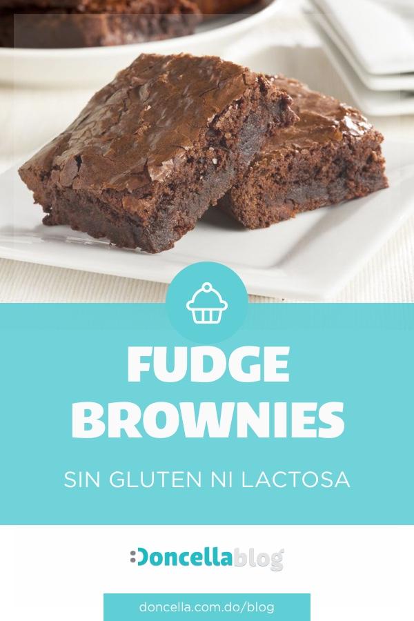 Fudge Brownies Gluten-Free: Receta para celebrar San Valentín